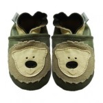 bear soft leather baby shoes
