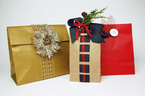 Creative gift wrapping ideas for the holidays lubas fashions