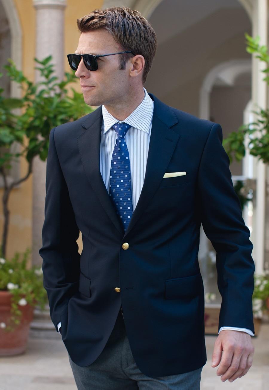 Navy Blue Blazer Outfit Men | www.imgkid.com - The Image ...
