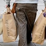shopping at Primark