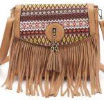 boho vintage tassel sling bag by TwinnyWinny