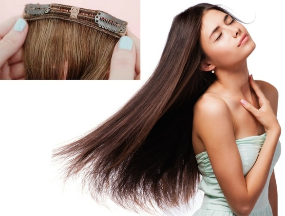 clip in hair extensions by Canada Hair