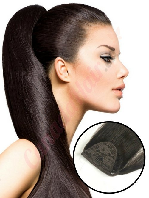 ponytail remy hair postiche by Canada Hair
