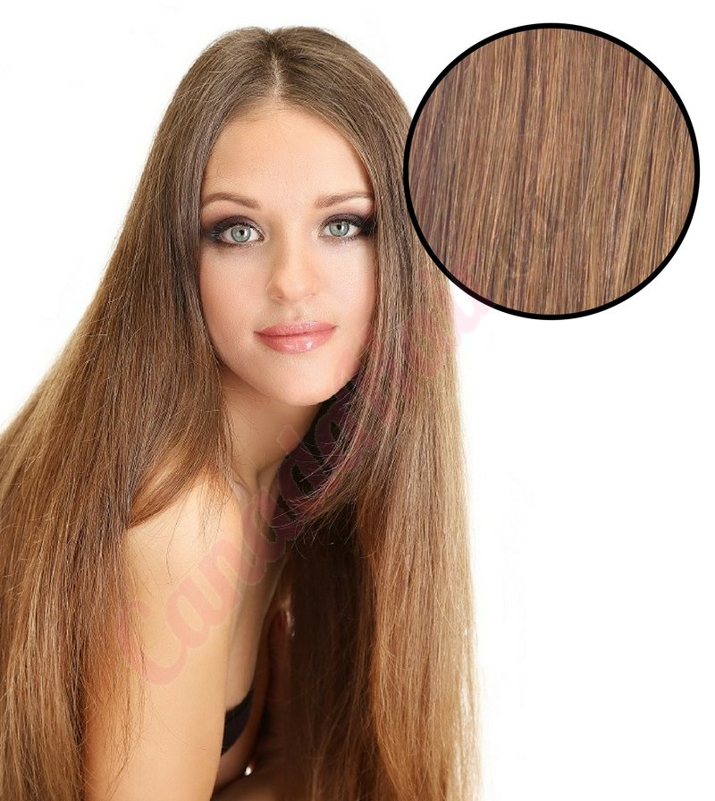 rallonges de cheveux brun pale hair extensions by Canada Hair