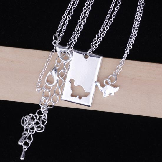 Gentle Giant Twin Necklace