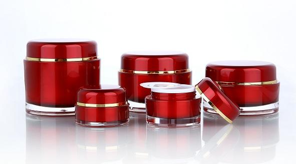 basic round cosmetic jars
