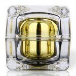 round square encased jar