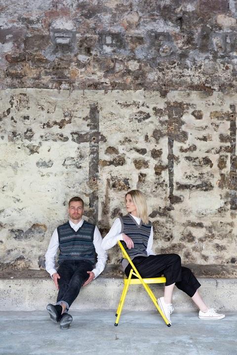 We Are Rushworth designer cashmere knitwear merino sweater dress