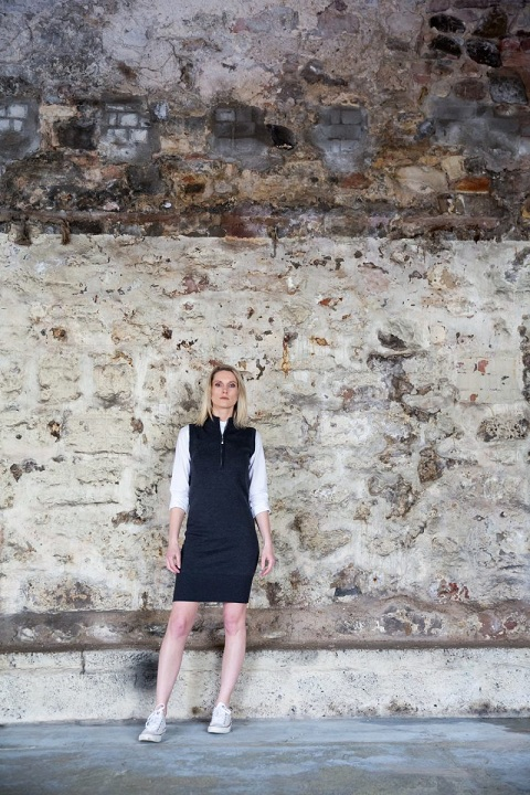 We Are Rushworth designer knitwear merino sweater dress