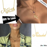 necklace with a message by Jechic